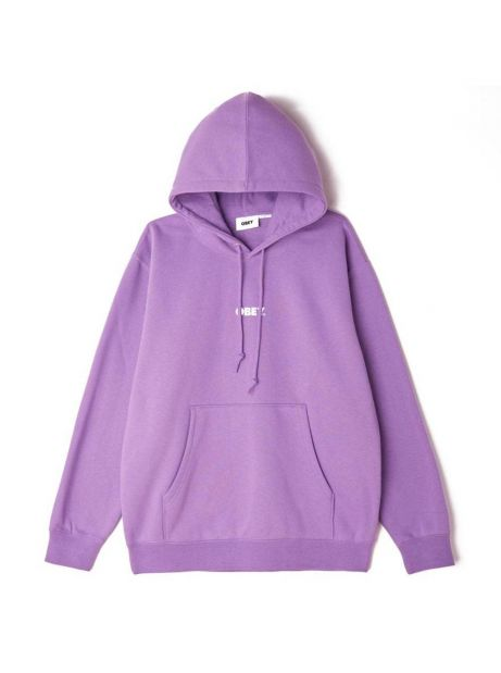 Obey Bold mini box fit premium hoodie - orchid obey Sweater 81,15€
