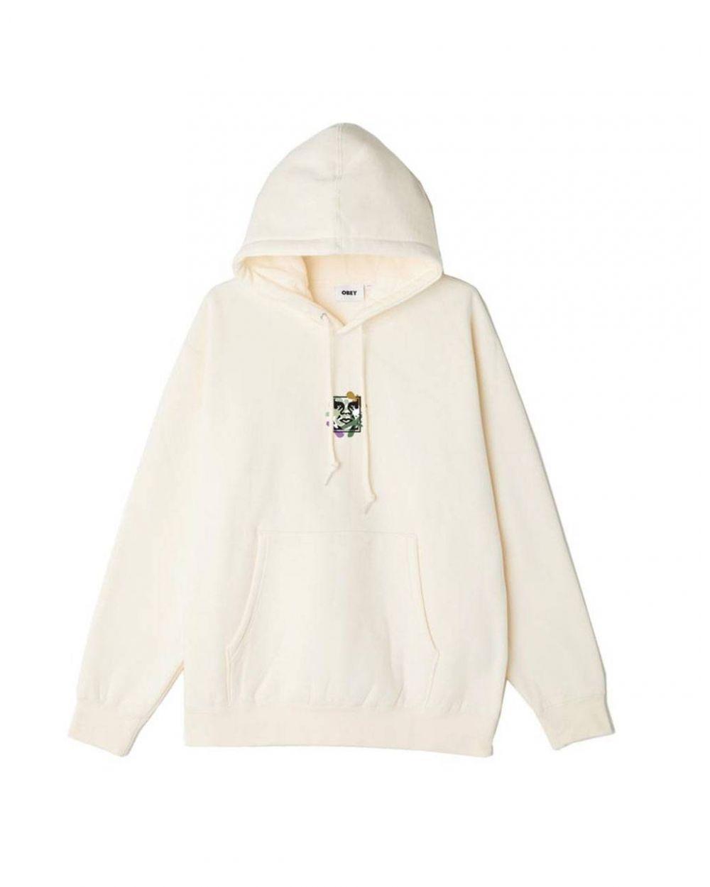 Obey Flower dance box fit premium hoodie - sago obey Sweater 81,15€