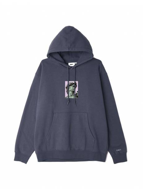 Obey Rome box fit premium hoodie - french navy obey Sweater 81,15€
