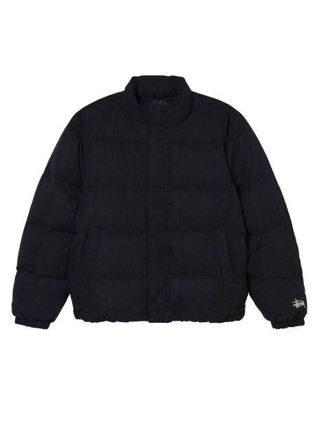 Stussy Solid puffer jacket - black Stussy Bomber 262,30€