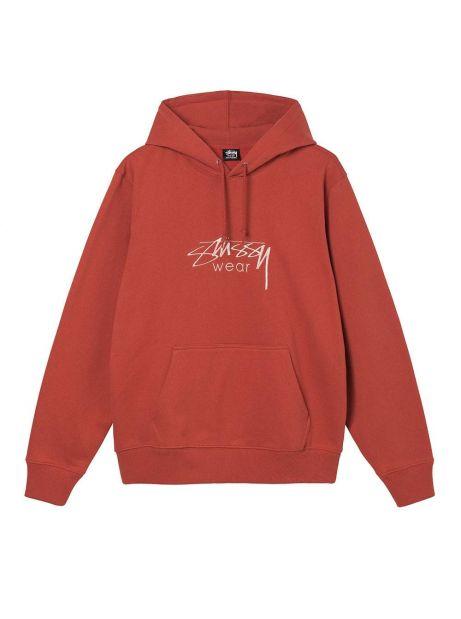 Stussy Wear app. hoodie - brick Stussy Sweater 132,00€