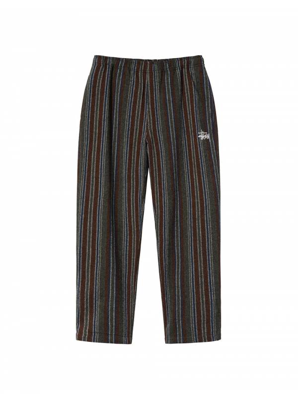 Stussy Wool striped relaxed pants - olive Stussy Pant 155,00€