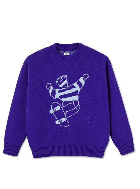 Polar Skate Co. Skate Dude Knit Sweater - purple POLAR Knitwear 114,75€