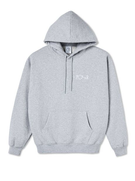 Polar Skate Co. 3 Tone Fill Logo Hoodie - sport grey POLAR Sweater 109,00€