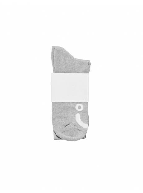 Polar Skate Co. Happy Sad Socks - heather grey POLAR Socks 15,57€