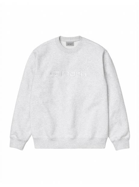 Carhartt Wip Carhartt sweat - Ash Heather / white CARHARTT WIP Sweater 73,77€
