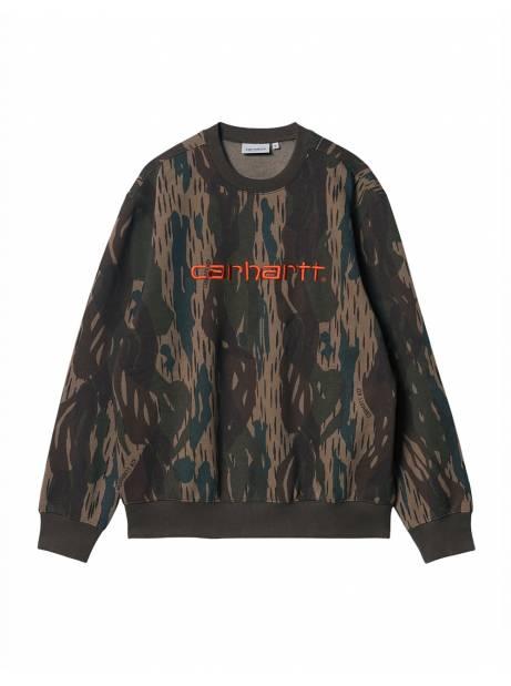 Carhartt Wip Carhartt sweat - Camo Unite / coppertone CARHARTT WIP Sweater 73,77€