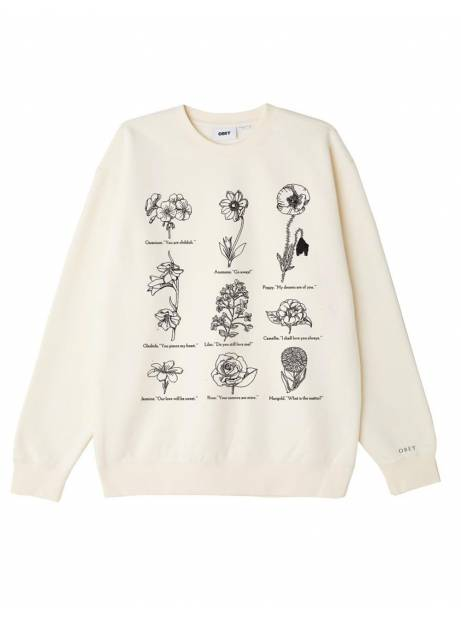 Obey Flower packet hook up set crewneck sweater - sago obey Sweater 109,00€