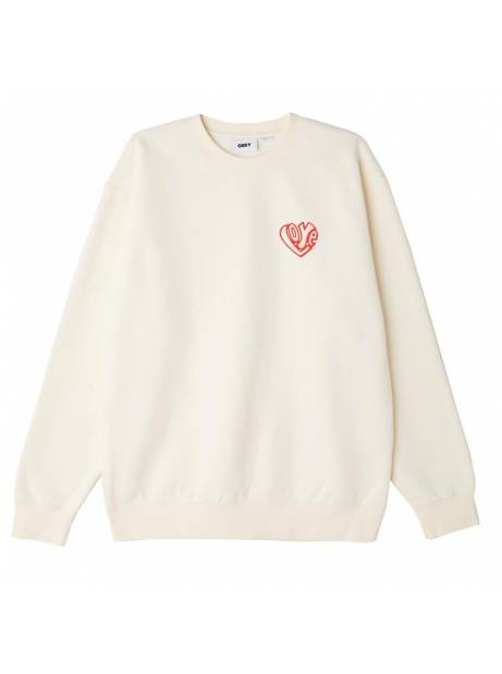 Obey Free your feelings box fit premium crewneck sweater - sago obey Sweater 78,69€