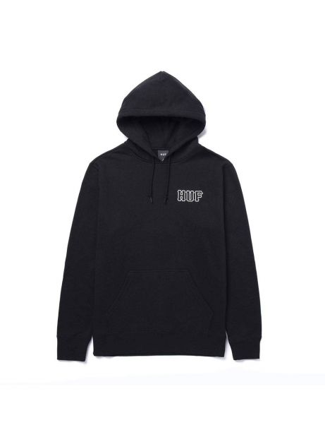 Huf Barb wire classic H hoodie - black Huf Sweater 109,00€
