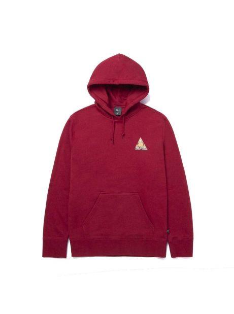 Huf New dawn triple triangle hoodie - bloodstone Huf Sweater 99,00€