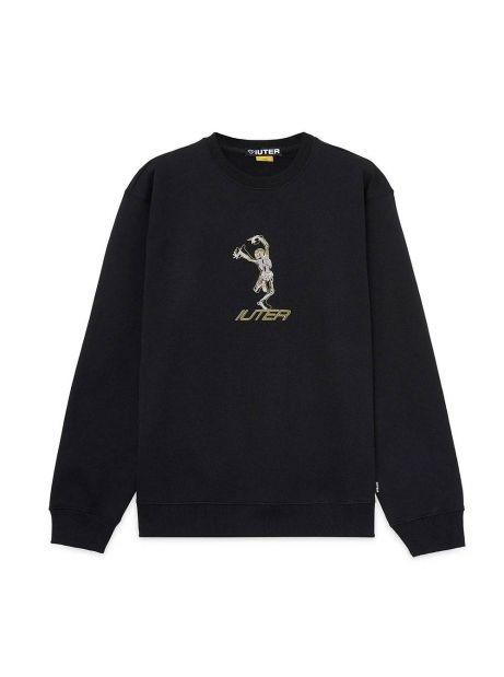 Iuter skeleton crewneck sweater - black IUTER Sweater 81,15€