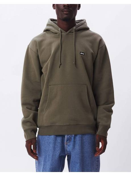 Obey Mini box logo speciality hoodie - thyme obey Sweater 81,15€