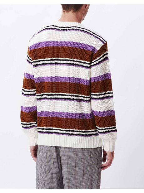 Obey Parker knitwear - cream multi obey Knitwear 89,34€