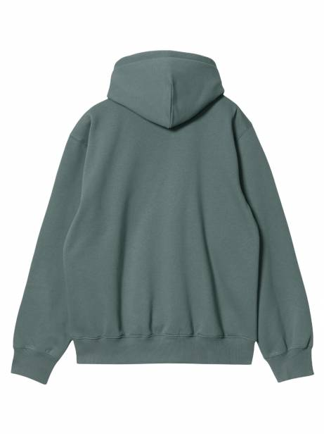 Carhartt Wip Hooded Carhartt Sweat - Eucalyptus / frasier CARHARTT WIP Sweater 81,15€