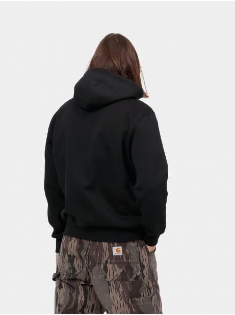 Carhartt Wip Hooded Carhartt Sweat - black CARHARTT WIP Sweater 81,15€
