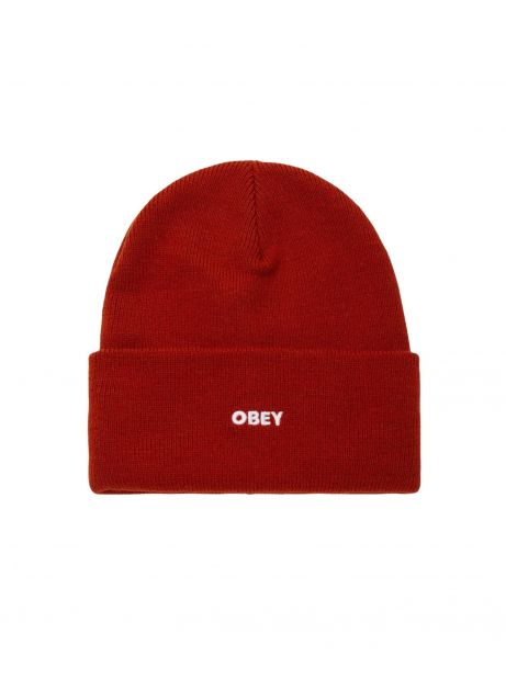 Obey fluid beanie - ginger obey Beanie 35,00€