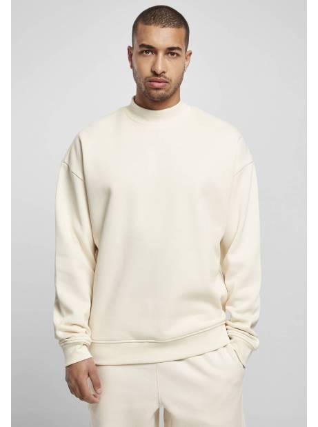 Urban classics TB4483 Mock Neck Crew - whitesand Urban Classics Sweater 45,00€