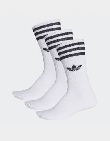 Adidas Originals Solid crew sock (3 Pairs) - White / Black Adidas Originals Socks 12,30 € -50%